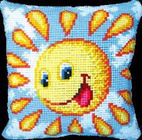 Набор для вышивки подушки «Солнышко»