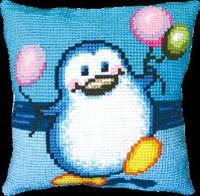 Набор для вышивки подушки «Пингвин»