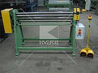 Вальцы листогибочные Mazanek ZWM - 1020/1,5