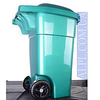 Контейнер для мусора Зелёный 60л