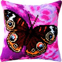 Набор для вышивки подушки «Павлиний глаз»