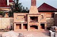 Печи грубы камины барбекю русские печи тандыр голландка кухонная плита
