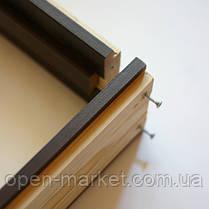 Коробка ПВХ Deluxe 80*32 дерево, комплект, фото 2