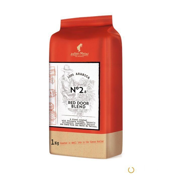 Julius Meinl THE ORIGINALS Red Door Blend в зернах 1 кг