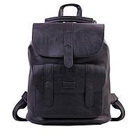 Женский рюкзак-сумка Toposhine черный