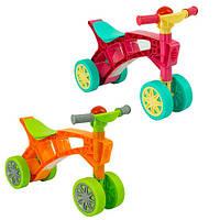 Детская каталка-ролоцикл 3824 с пищалкой на руле