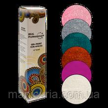 Набор гель-красок Real Professional ЧУДЕСА ПРИРОДЫ, 6 штх6 мл