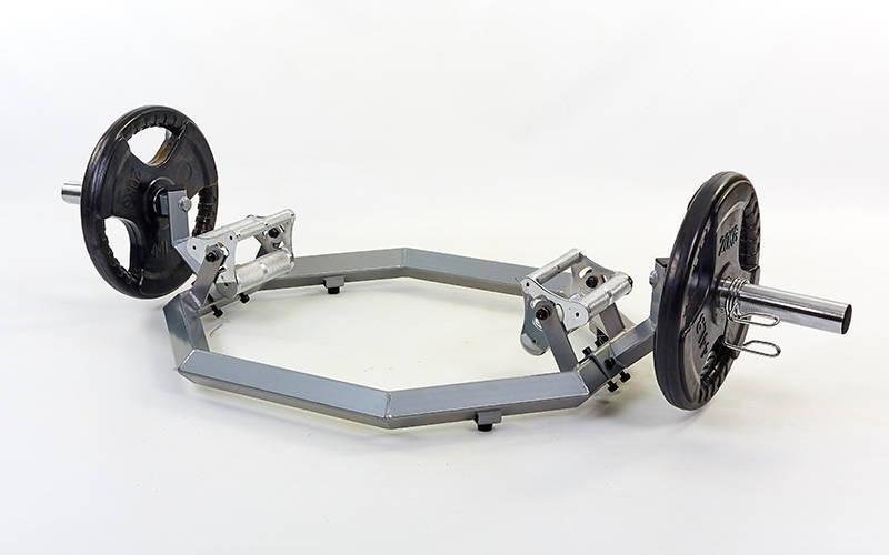 Гриф трэп восьмиугольный или рама для становой тяги