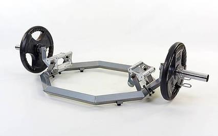 Гриф трэп восьмиугольный или рама для становой тяги, фото 2