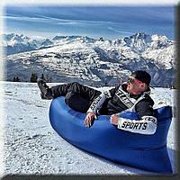 Зимний Лежак для снега Lamzac (Ламзак) – надувной лежак шезлонг Универсальный