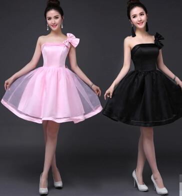Короткое элегантное платье