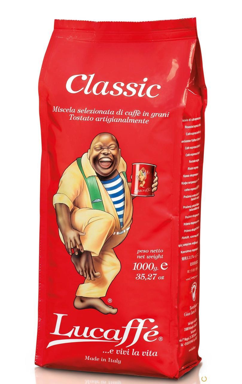 Кофе в зернах Lucaffe Classic 1 кг