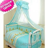 Постельный комплект в кроватку Twins Comfort Утята (8 предметов), фото 1