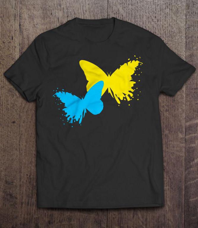 Футболка патриота | Бабочки Метелики |