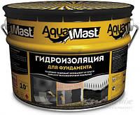 Мастика битумная TECHNONICOL Aquamast для фундамента 10 кг