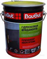 Мастика битумно-каучуковая BauGut гидроизоляция фундамента 10 кг