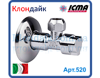 Icma приборный кран 1/2*10мм