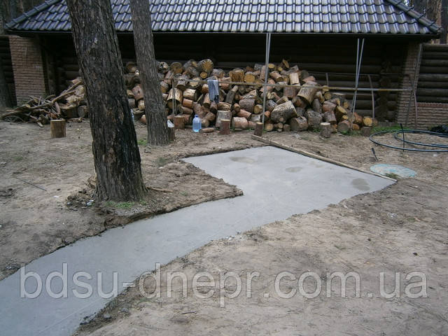 Расценки бетонирования на даче