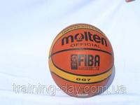 Мяч баскетбол PVC-MO12 MOLTEN GE7