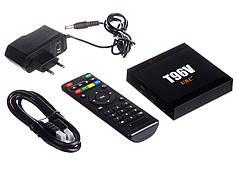 Медиаплеер приставка Android TV Box SMART TV T96V 2gb\16gb S905W