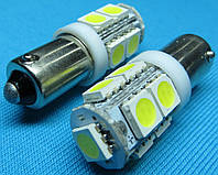 Светодиодная лампа Ba9s T4W 9smd