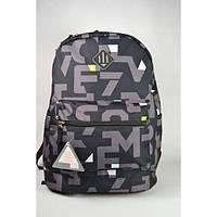 """Рюкзак """"Favor"""" современного кроя и дизайна серый., фото 1"""