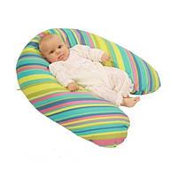 Подушка для беременных и кормления ребенка EKO Womar (полистироловые шарики,164 х 70 см)