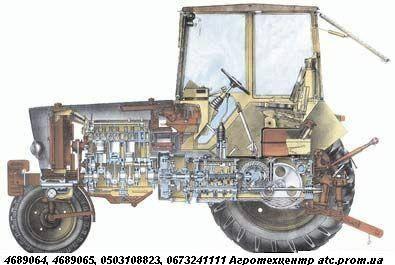 Запчасти ЮМЗ (Д-65, Д-242)