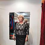 Кружевное платье из ждерси и французкого кружева на пудровой подкладке.58- 60 размеры батал, фото 5