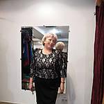 Кружевное платье из ждерси и французкого кружева на пудровой подкладке.58- 60 размеры батал, фото 4