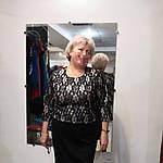 Кружевное платье из ждерси и французкого кружева на пудровой подкладке.58- 60 размеры батал, фото 3