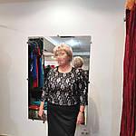 Кружевное платье из ждерси и французкого кружева на пудровой подкладке.58- 60 размеры батал, фото 2