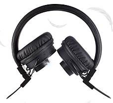Беспроводные Bluetooth стерео наушники NIA X5SP с МР3, FM и колонкой Black, фото 2
