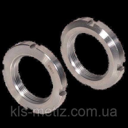 Гайка круглая шлицевая, резьба метрическая DIN 981 от М 10 до М 200, фото 2