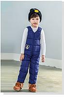 Теплые штаны-комбинезон для ребенка с Микки Маусом  Акция! Последний размер:  80см