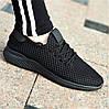 Кроссовки женские черные летние (код 751) - кросівки жіночі чорні