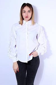 Блуза женская белая размер 46 Fashion