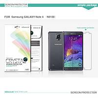 Защитная пленка Nillkin для Samsung  Note 4 N9100 глянцевая
