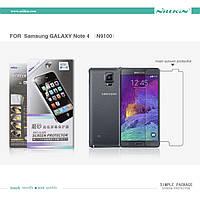 Защитная пленка Nillkin для Samsung  Note 4 N9100 матовая