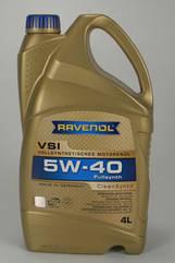 Синтетическое моторное Ravenol VSI Sae 5w-40