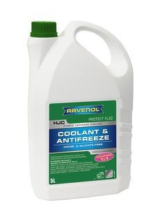 Концентрат антифриза Ravenol HJC FL22 (зелёный) 5L 1.5л