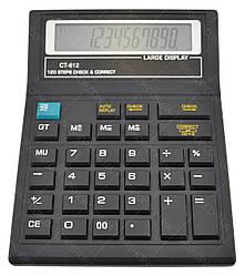Настольный калькулятор CT-612 Black
