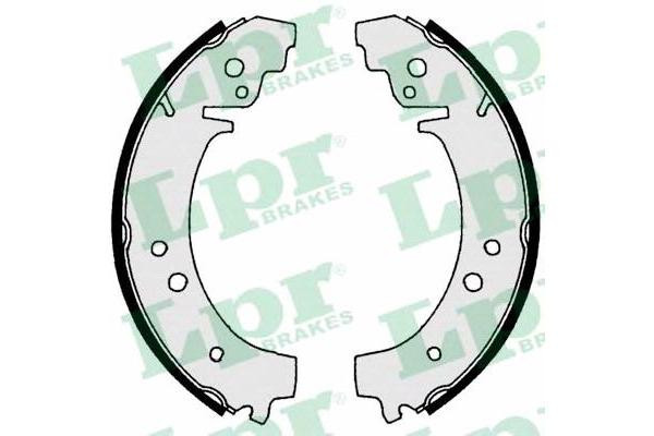 Задние тормозные колодки LPR 00730 на Ваз 2101-07
