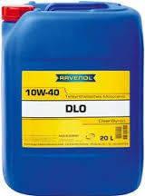 Полусинтетическое моторное масло Ravenol DLO 10w-40 20, 20л, Ravenol, Германия