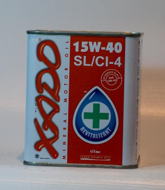 Минеральное моторное масло Xado 15w-40 Road drive SL/CI-4 1л