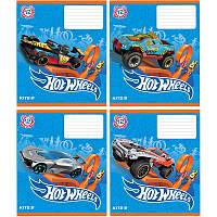 Тетрадь Kite 232 Hot Wheels 12 листов клетка HW19-232