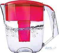 Фильтр-кувшин для воды Наша Вода Максима Красный