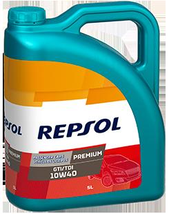 Полусинтетическое моторное масло Repsol Premium GTI/TDI 10w-40 4l