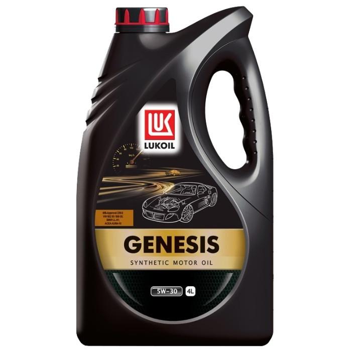 Синтетическое моторное масло Lukoil Genesis 5w30 4L
