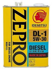 Моторное масло Idemitsu Zepro Diesel 5w30 DL 1 4L